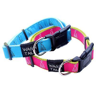 Dog collars Factory Direct: Manufacturer Dog Collars Nylon Jacquard-QQpets