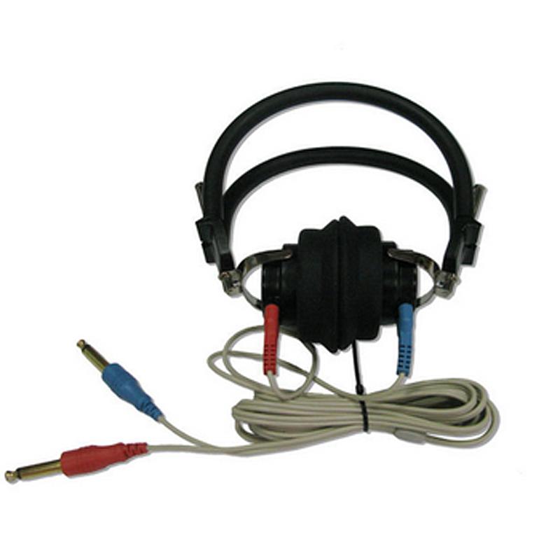 Headset draad vir die toets van gehoor